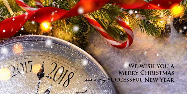 Sretan Božić i Nova godina 2018
