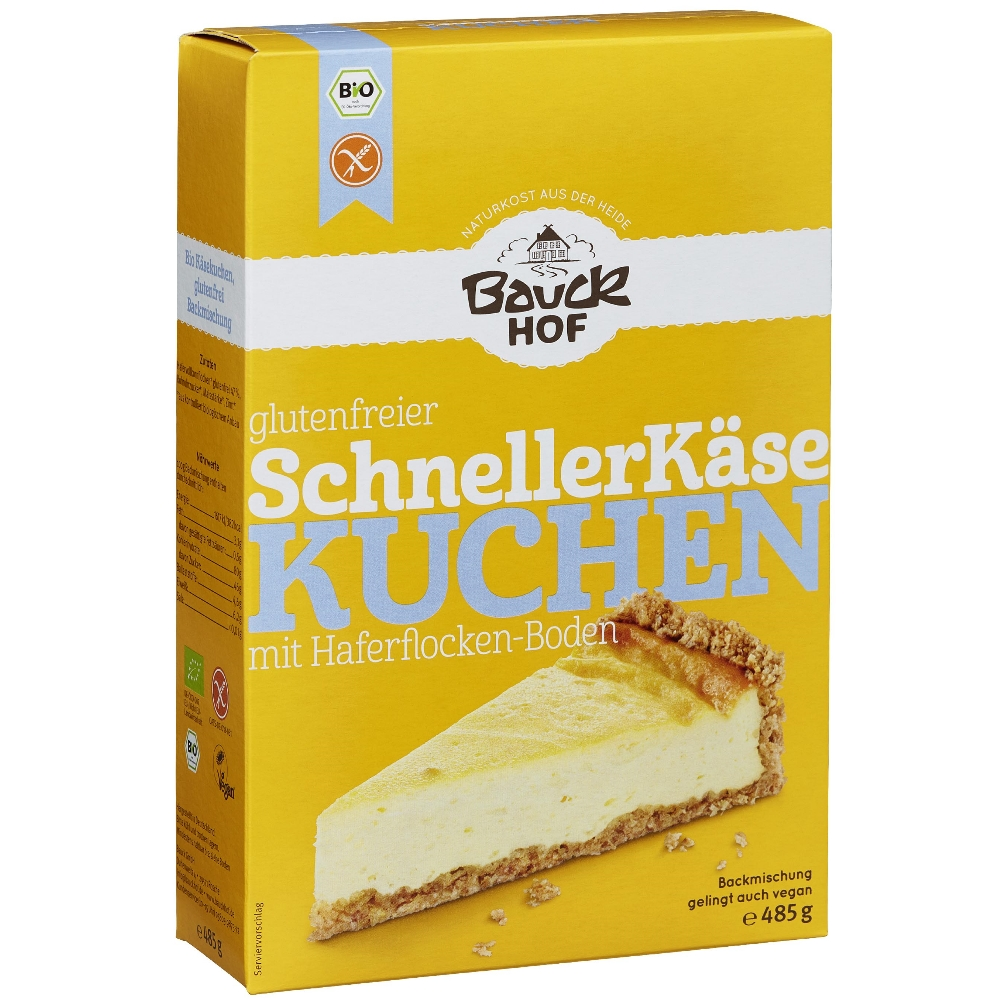 Bauck Hof bezglutenska smjesa za cheesecake kolač