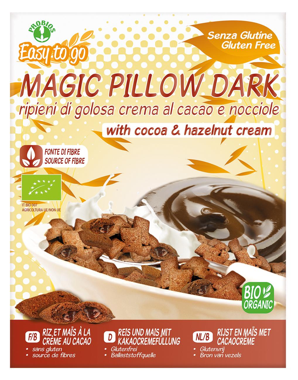 Probios jastučići punjeni kremom od kakaa i lješnjaka