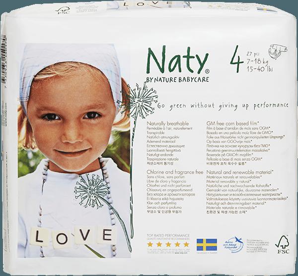 Zašto odabrati Naty eko pelene ?